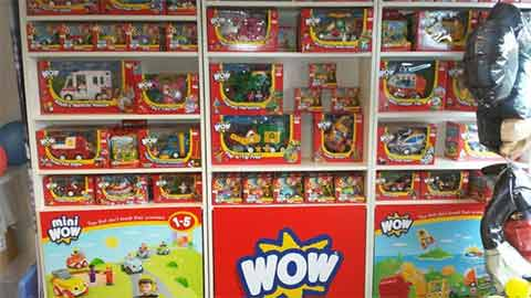Wow Toy Shop at Sittingbourne play center